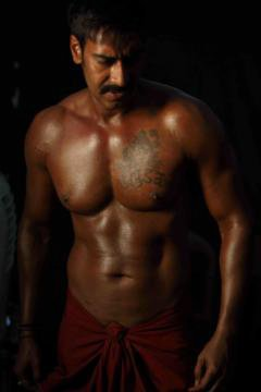 11jun AD singham01 Ajay Devgn's beefed up look for 'Singham'