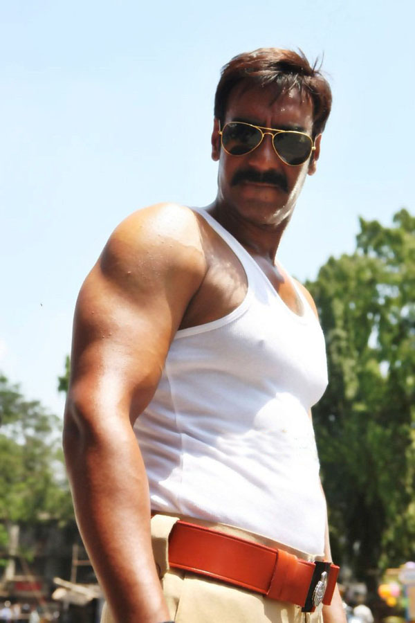 11jun AD singham07 Temperatures soar this Summer as Ajay Devgn plays 'Singham'