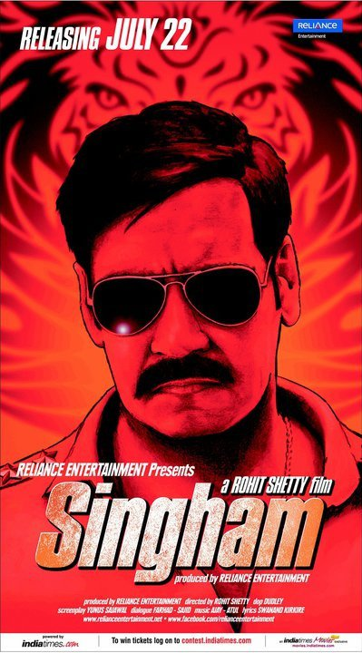 11jun AD singham121 Singham Movie Review