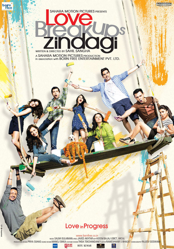 11jun LBZposterfb01 Meet the cast of Love Breakups Zindagi