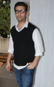 11jun kjoadopts5villages 185x300 Karan Johar goes green at NDTV's Greenathon!