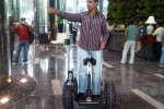 Indra Kumar on Segway