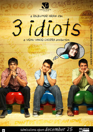 11jul 3idiots youtube Reliance Home Video to Premeire '3 Idiots' on YouTube India