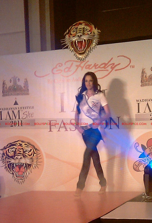 11jul IAmShe Fashion11 BollySpice at I Am She fashion event