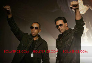 11jul akshay ludacris breakaway Akshay Kumar to be B town's first producer to truly go Hollywood