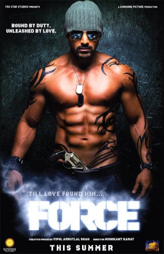 11jul forceposter01 How to get the FORCE John Abraham Eight Pack!