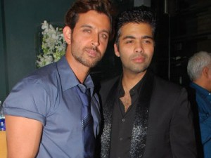 11jul hrithik roshan karan johar Hrithik Roshan reunites with 'Team Agneepath' for Shruddhi