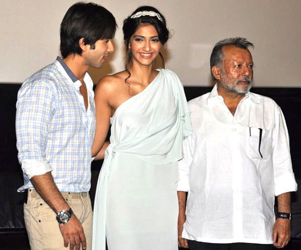 "11jul mausum music04 ""This film means a lot more to us than just a film"": Shahid at Mausam Trailer launch"