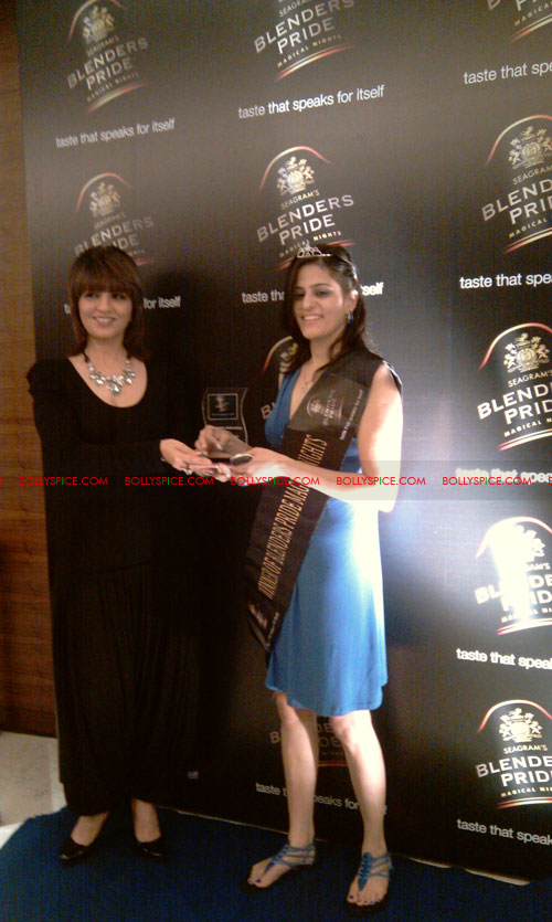 11jul neha blenders pride02 Neha Dhupia at Blenders Pride Magical Nights
