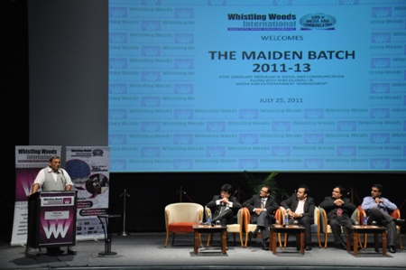 11jul whistling inauguratesMBA02 Whistling Woods International inaugurates MBA in Media & Communication