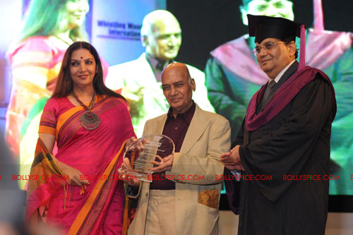 11jul whistlingwoods honorsveterans Whistling Woods International honors Industry Veterans