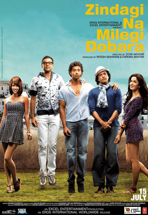 11jul znmd moviereview Zindagi Na Milegi Dobara Movie Review