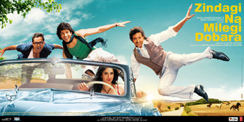 11jul znmd moviereview2 Zindagi Na Milegi Dobara Number One Overseas In 2011