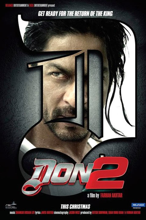 don 2 first look poster First Look: Don 2 Poster!