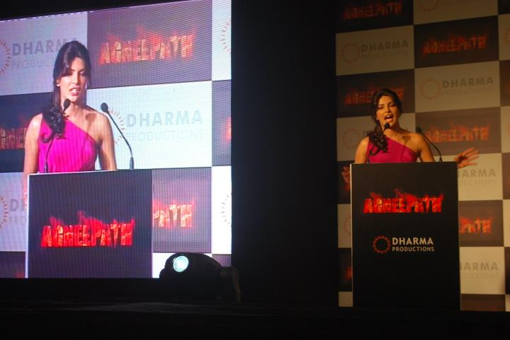 11aug agneepathTL15 Exclusive: BollySpice at Agneepath Trailer Launch