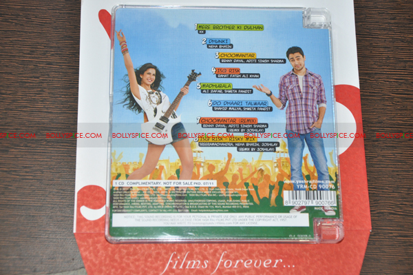 11aug mbkd cdcover02 YRF's Mere Brother Ki Dulhan music released