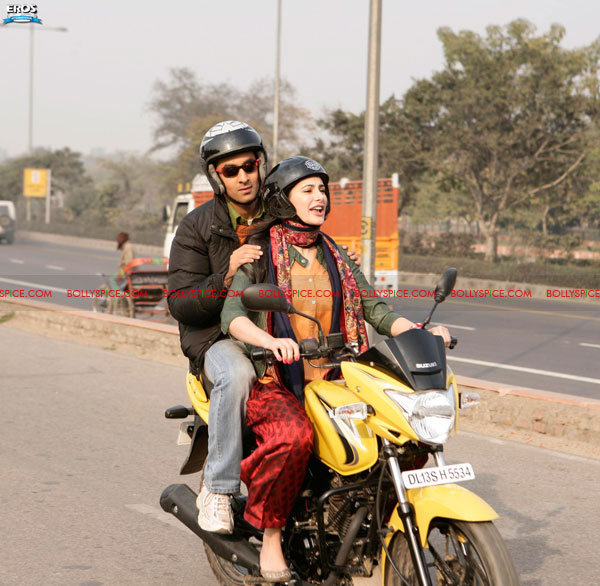 11aug rockstar still Ranbir's bike scare on the sets of Rockstar!
