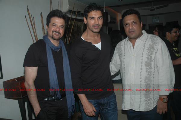 11aug shootoutatwadalaparty01 John Abraham at Shootout at Wadala party