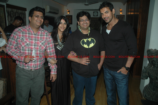 11aug shootoutatwadalaparty05 John Abraham at Shootout at Wadala party