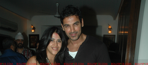 11aug shootoutatwadalaparty06 John Abraham at Shootout at Wadala party