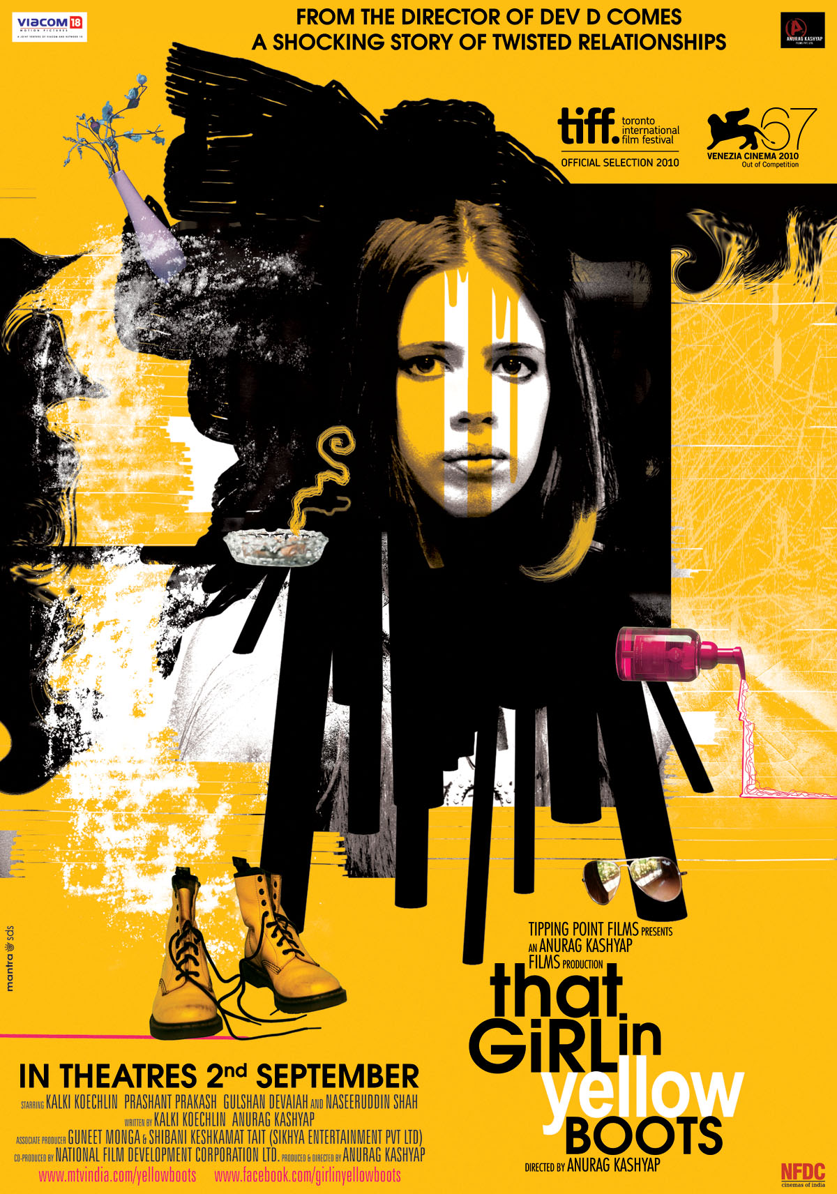 11aug thatgirlinyellowboots poster01 First Look: That Girl In Yellow Boots