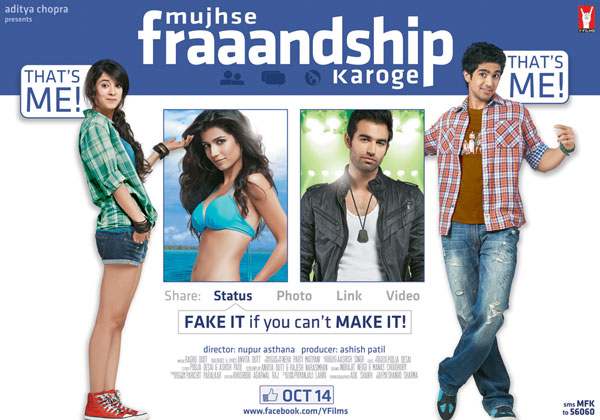 11sep FL MFK First Look: Mujhse Fraaandship Karoge