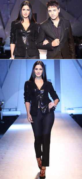 11sep KKIK Joharfashion01 Katrina and Imran walk for Karan Johar!