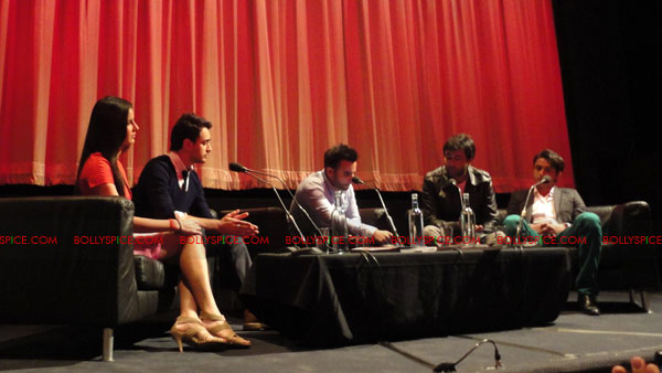 11sep UK mbkd conf06 Exclusive: BollySpice coverage of Mere Brother Ki Dulhan UK Press Conference