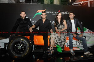 11sep forceindia fbar10 300x199 Force India Octane Nights hosted a Fashion Fiesta at F Bar