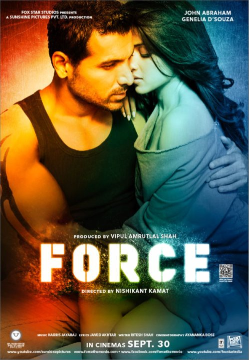 11sep forceposternew01 John Abraham a FORCE not to be reckoned with
