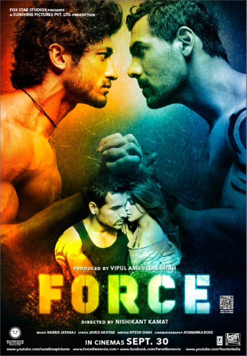 11sep forceposternew03 John Abraham a FORCE not to be reckoned with