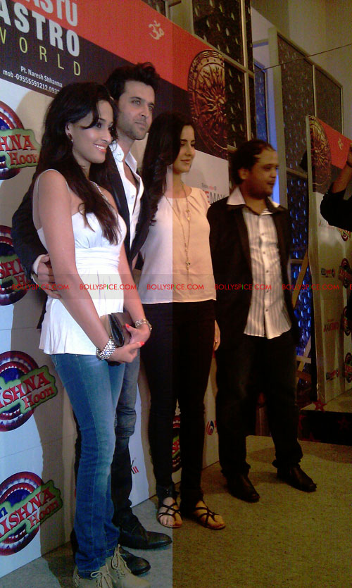 11sep mainhoonkrishna12 Hrithik and Katrina at Main Krishna Hoon Music Launch