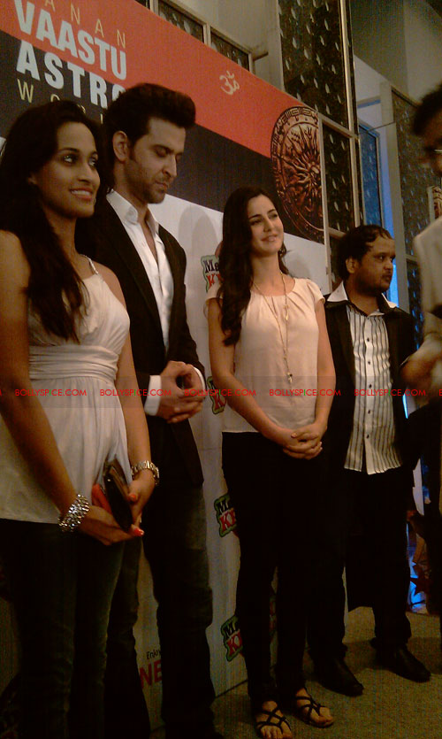 11sep mainhoonkrishna17 Hrithik and Katrina at Main Krishna Hoon Music Launch
