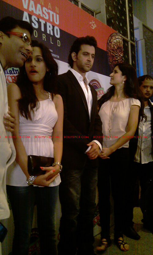 11sep mainhoonkrishna18 Hrithik and Katrina at Main Krishna Hoon Music Launch