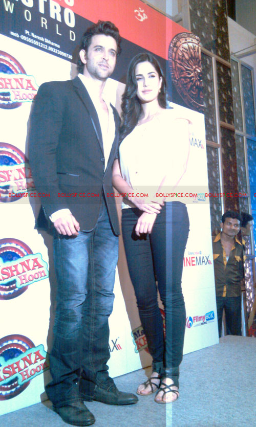 11sep mainhoonkrishna20 Hrithik and Katrina at Main Krishna Hoon Music Launch