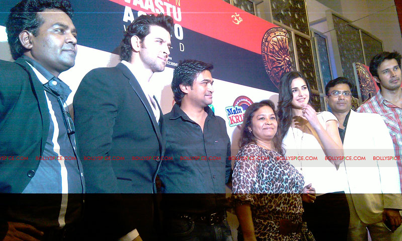 11sep mainhoonkrishna22 Hrithik and Katrina at Main Krishna Hoon Music Launch