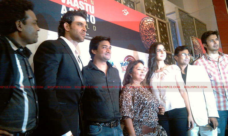11sep mainhoonkrishna23 Hrithik and Katrina at Main Krishna Hoon Music Launch