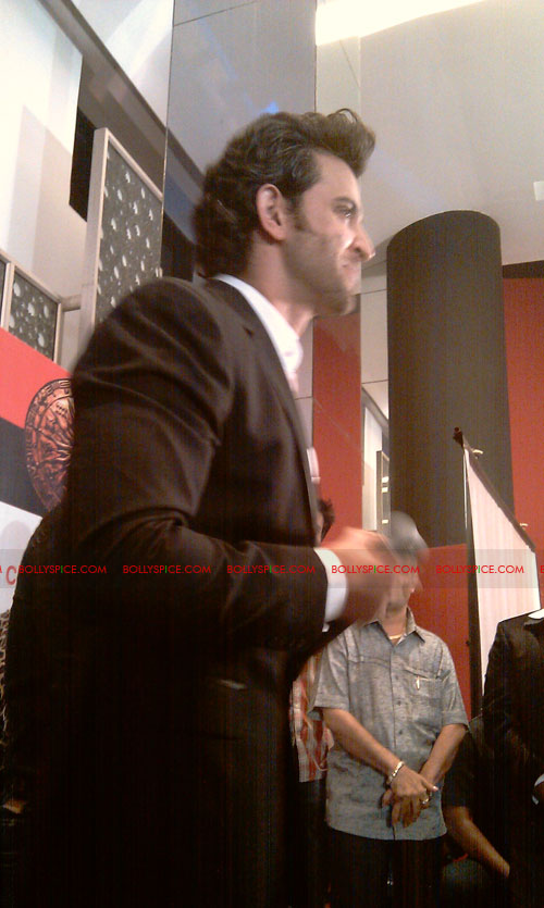 11sep mainhoonkrishna32 Hrithik and Katrina at Main Krishna Hoon Music Launch