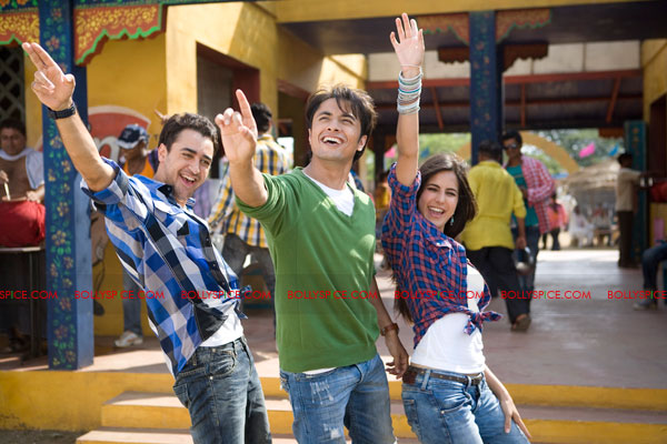 11sep mbkd trivia13A Imran, Ali Zafar and Katrina goofing around