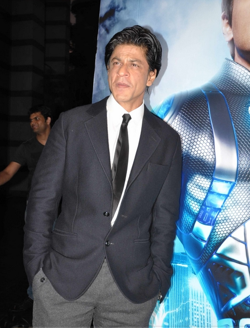11sep ra1westernunion04 Shah Rukh Khan launches the 'Ra.One – Western Union' Global Campaign