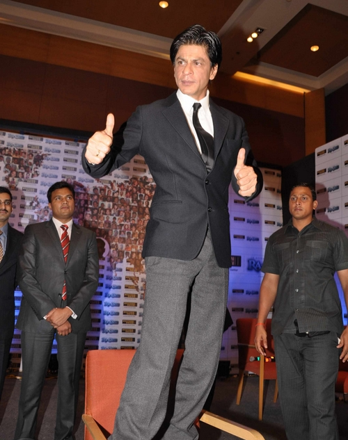 11sep ra1westernunion05 Shah Rukh Khan launches the 'Ra.One – Western Union' Global Campaign