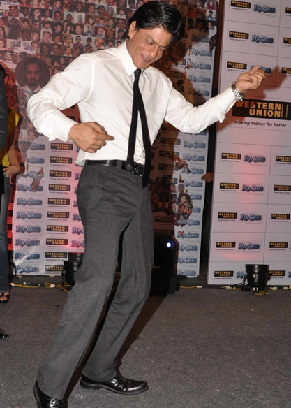 11sep ra1westernunion10 Shah Rukh Khan launches the 'Ra.One – Western Union' Global Campaign