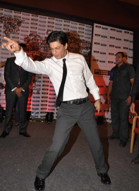 11sep ra1westernunion12 Shah Rukh Khan launches the 'Ra.One – Western Union' Global Campaign