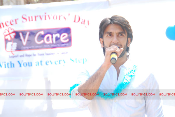 11sep ranveer vcare01 Ranveer Singh at the Victor Awards dedicated to cancer survivors