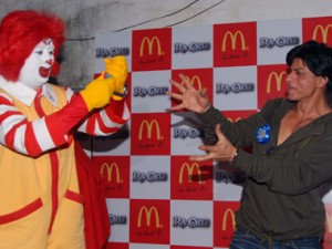 11sep raon mcdonalds01 300x225 Get Ready for the Ra.One Happy Meal at McDonalds