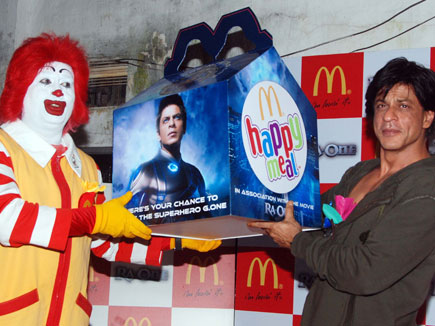 Get Ready for the Ra.One Happy Meal at McDonalds | BollySpice.com – The  latest movies, interviews in Bollywood