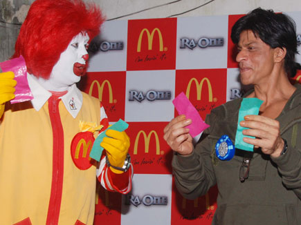 11sep raon mcdonalds10 Get Ready for the Ra.One Happy Meal at McDonalds