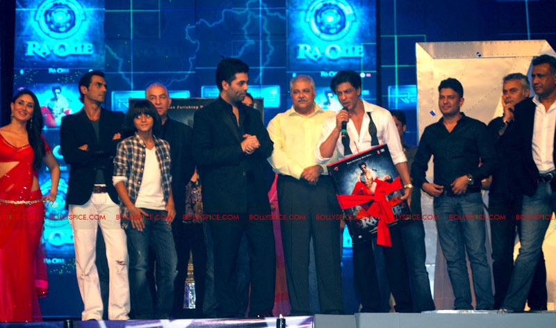 11sep raone musiclaunch02 An Epic music launch – Ra.One is here to stay!