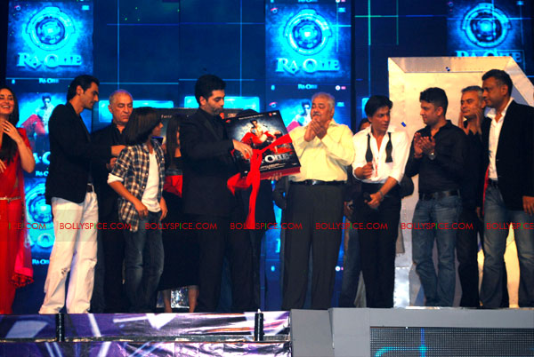 11sep raone musiclaunch03 An Epic music launch – Ra.One is here to stay!