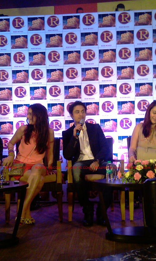 11sep zafar rao launch08 Ali Zafar and Aditi Rao at London Paris New York Launch
